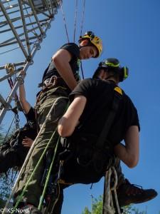 Einführung in die improvisierte Rettung (pick-off Rescue).